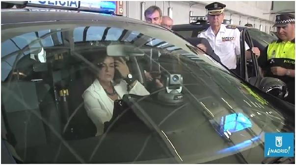 Vivotek PZ8121W kamera rendőrautóban