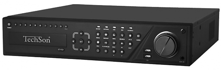 Techson TC-DVR LN3032 AHD-TVI rögzítő. 32 AHD / TVI csatorna.